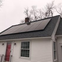 4.34kW Silfab 310w Install in Worcester MA