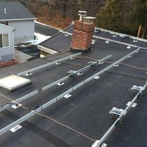 We warranty our workmanship to ensure no leaks on your roof! This Enphase install was done on a rubber roof with over 50 attachment points!