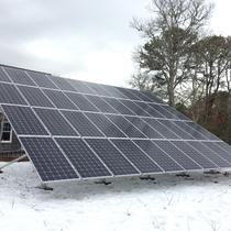 Residential Ground Mount PV, Harwich
