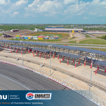 Official Solar Partner of Charlotte Motor Speedway