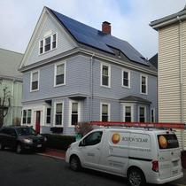 This customer went with the CT solar lease and is saving over $800 yearly!