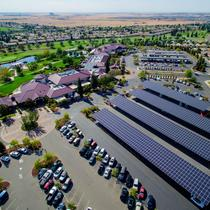 Sun City Lincoln Hills Solar Carport Installation