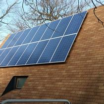 5.7 kW Roof Mount System. Southern Indiana