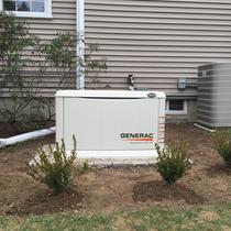 Generac 16KW Generator with 200 amp automatic transfer switch