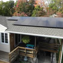 4.2KW system using LG panels, Ironridge racking and Enphase microinverters