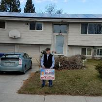 Another Happy Hot Solar Solutions Customer