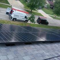 A 10 kW installation in Bloomingdale.
