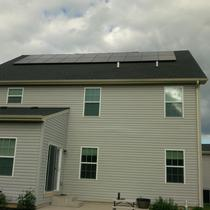An 8 kW installation in Plainfield.