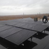 SunPower on a Rubber Roof