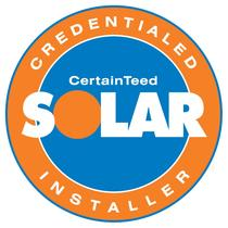 CertainTeed Certified Solar Installer