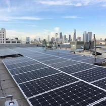 Beautiful 50.0kW industrial installation near downtown L.A.