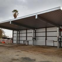 Cantilevered Carports
