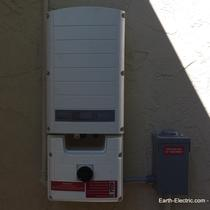 What does this gadget do? It transforms the electricity that solar panels make from DC to AC... the kind of electricity we use in our homes. -2016, Monte Sereno, CA. SolarEdge Technologies
