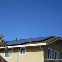 How much electricity are you going to make today? -2015, San Jose, CA. LG Electronics solar panels. SolarEdge inverter and DC optimizers.