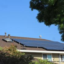 Here is a perfect example of a small business making a BIG difference for one household: energy independence!  -San Jose, CA, 2015. LGElectronics solar panels SolarEdge inverter & DC optimizers.