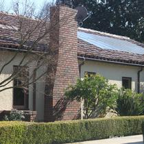 How much are each of your panels producing? Which ones are functioning below par? With a monitoring system, like the homeowner has here, you can easily see the answers to these questions. Enphase Energy monitoring system: Envoy. -San Jose, CA 2015