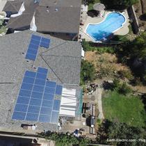 -2016, San Jose, CA. Hanwha Q-Cell 265W solar panels. SolarEdge 7.6kW inverter & P300 DC optimizers.