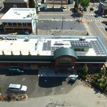 C-Square in Mt Vernon, from above