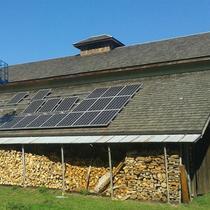 beautiful hand-made barn
