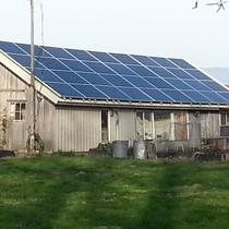 Old barn. New solar.