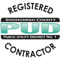 Registered Snoohomish PUD Contractor