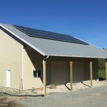 New shop. New solar.