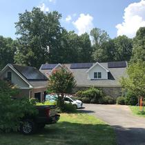 13.3kW system in Clifton VA