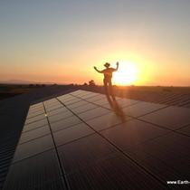 Solar Install on top of barn