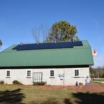 Barn roof top PV