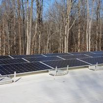 7.24KW Ballasted Mount Solar Array