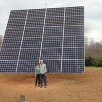7.56KW Series 24 All Earth Solar Tracker