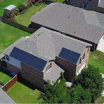Roof top solar in Grand Prairie