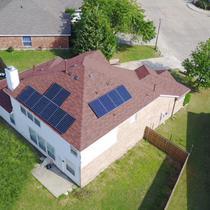 Roof top solar in Dallas
