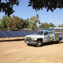 Commercial ground mounted solar systems.
