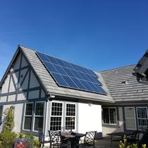Residential Composite Roof Solar
