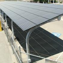 Raised Car Port Solar
