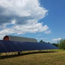20 kW ground mount in Woodstock
