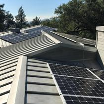 17kW Metal Roof in St. Helena