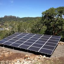 10kW Ground Mount in Santa Rosa