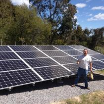 5kW Ground Mount in Sebastopol