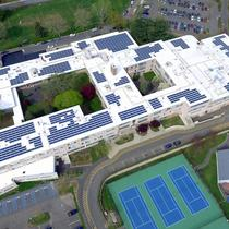 Connecticut commercial solar installation.