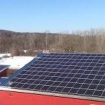 Fire Dept Solar Roof Mount