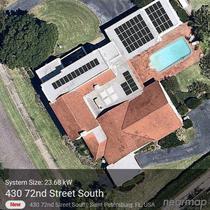 Large Solar Array in St Pete -Saba Job