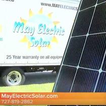 LG Solar Up Close and Truck