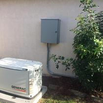 Back-up Generator install in Wesley Chapel, FL