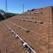 In-progress install in Wesley Chapel, FL