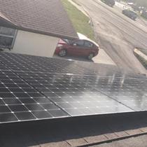 LG330E1C-A5 solar panel installation in Largo, FL