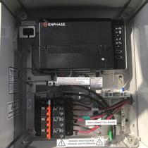Enphase iQ Envoy Combiner Box Installed