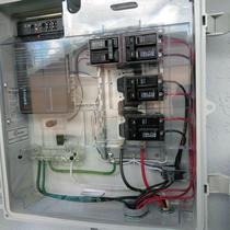 We use the Enphase Combiner Box on every installation. This is NOT required, it is chosen!