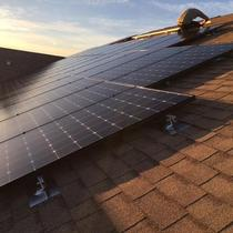 LG solar panels installed in Riverview, FL
